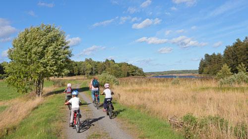 Ferienhaus-Schweden-Fahrradtour
