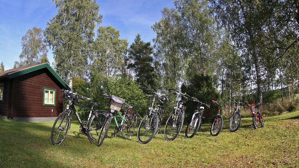 Schweden-Svanskog-Ferienhaus-Kantarella-Fahrräder