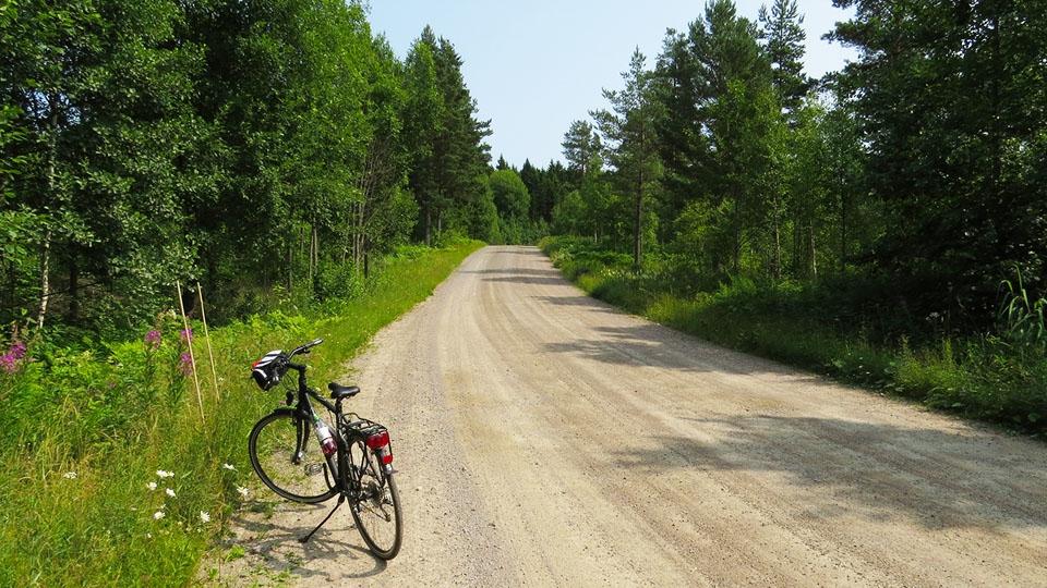 Ferienhaus-Schweden-Fahrrad