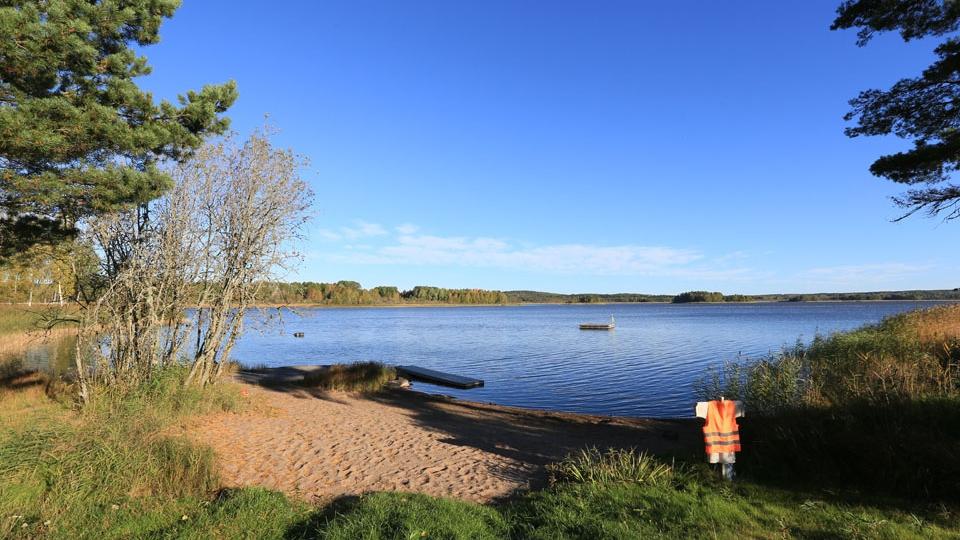 Schweden-Svanskog-Ferienhaus-Badeplatz