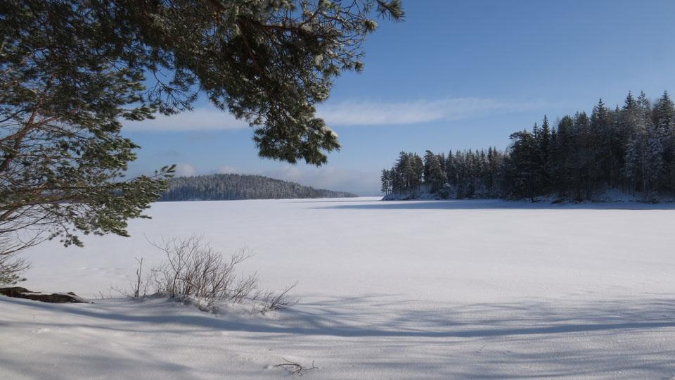 Ferienhaus in Schweden-Winter