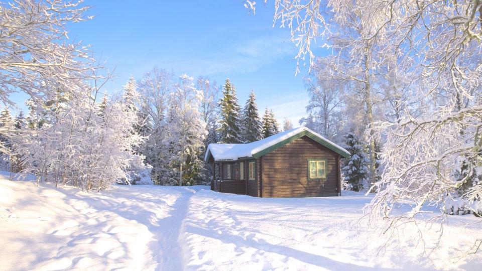 Ferienhaus in Schweden-Winterurlaub-Haus